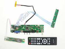 HDMI USB AV VGA TV PC Universal LCD LED Screen Controller Board DIY Monitor Kit