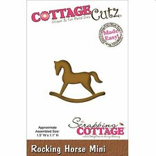 COTTAGE CUTZ ROCKING HORSE MINI CUTTING DIE FROM THE SCRAPPING COTTAGE  NEW 2015