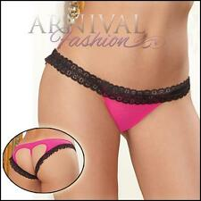 NEW sexy lingerie 2 in 1 STRAPPY G-STRING PANTIES online LACY KNICKERS hot panty