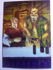 Star Wars 1996 Finest Base All Chrome Number 72 Wuher & Chalmun