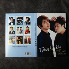 K-POP TVXQ TOHOSHINKI PHOTO POST COLLECTION CARD MEMO PAD SPECIAL SET NEW