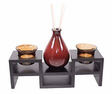 Tabletop Tea light Candle & Incense Holder Home Decor Relaxing Gift US Seller