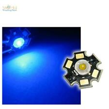 10 x Di alta prestazione LED Chip 3W BLU HIGHPOWER STAR LED