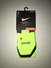 Nike VOLT Training Socks Soccer Football Elite Cushioned Large Dri Fit