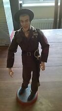 FULL METAL JACKET Action Figure 1/6 USMC Sergente Istruttore R Lee Ermey parlando RARO