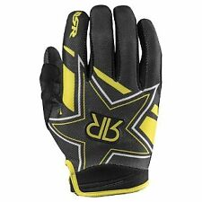 Rockstar Gloves Motorbike MX Yellow Black Motocross BMX etc