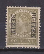 Nederlands Indie Netherlands Indies 92f MLH CANCEL BUITEN BEZIT kopstaand 1908