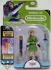 "LINK The Legend of Zelda Skyward Sword World of Nintendo 4"" Action Figure 2014"