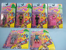 The Wizard of Oz Set of 6 POSEABLE FIGURES 50TH ANNIVERSARY Vintage 1988