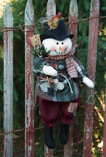 # 175 Hanging Snowman doll pattern by Bonnie B Buttons