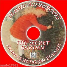 THE SECRET GARDEN F H BURNETT MP3 CD CLASSIC KIDS AUDIO BOOK NOVEL NEW