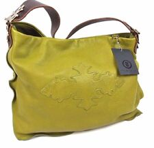 Tylie Malibu NWT GREEN  Leather Large Shoulder Purse $575 HAND BAG SATCHEL 1019
