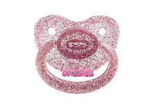 Adult Sized Glittery Purple Pacifier/Dummy NUK 6 | For Adult Baby ABDL DDLG |