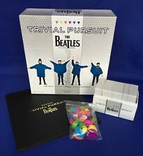 The Beatles Trivial Pursuit Board Game Collectors Edition Hasbro Beatlemania