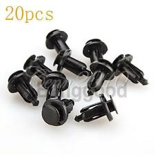 20x 10mm Plastic Rivet Fastener Clip Bumper Grill For Honda Civic Accord CR-V