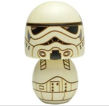 STAR WARS Exhibiton in japan Strom Trooper Kokeshi doll wood made in japan  f/s