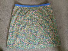 BODEN STUNNING 100% COTTON FLORAL PRINT SKIRT SZ 20 R WORN ONCE