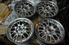 "JDM 17"" Rays engineering GTA GT-A rims wheels 114.3x4 240sx 180sx silvia volk"