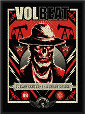 Volbeat - Ghoul Frame Patch 7cm x 10cm