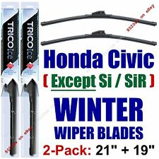 2001-2005 Honda Civic (EXCEPT Si SiR) - WINTER Wiper Blades 2-Pack - 35210+35190