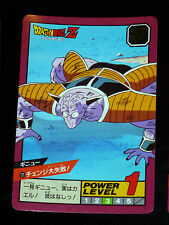 DRAGON BALL Z DBZ SUPER BATTLE POWER LEVEL PART 3 CARD CARTE 121 JAPAN 1992 NM