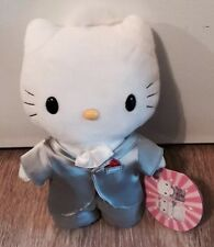 "NWT McDonald's Sanrio Hello Kitty  Sweetheart Wedding Groom Plush Toy 9"" 2000"