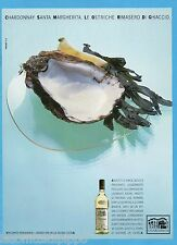 AIRONE985-PUBBLICITA'/ADVERTISING-1985- SANTA MARGHERITA - CHARDONNAY vers.A