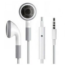 Wholesale 50/lot 3.5mm Earbuds Earphone Headset+MIC For iPhone 3G 3GS 4 4S iPod