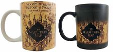 Harry Potter color changing mug themed magic mug Marauders map