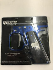 PAINTBALL NEW WGP Autococker  Hinge Trigger Frame Complete W/Grips POLISHED BLUE