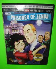 The Prisoner of Zenda DVD Collectors Edition Interactive Quiz Game Cartoon 2000