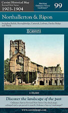 Northallerton and Ripon (Cassini Revised New Series Historical Map),,New Book mo