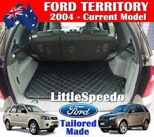 Ford Territory Boot Liner Cargo Mat Tray Extra Heavy Duty Leather 2004 - Current