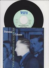 "7 "" Single  PERSONAL COLUMN Strictly Confidential 45/GER/PIC"