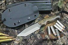 NEW CUSTOM TACTICAL TANTO  POINT KNIFE HANDMADE IN IDAHO USA