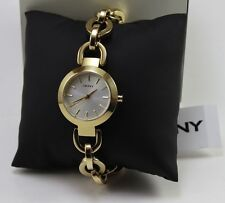 NEW AUTHENTIC DKNY STANHOPE GOLD LADIES WOMEN'S NY2134 WATCH