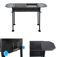 Portable Charcoal BBQ Grill Outdoor Camping Cooker Smoker Party Yard Patio Stove