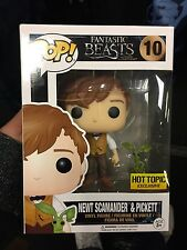 Funko Pop! Fantastic Beast Newt Scamander with Picket Hot Topic Exclusive