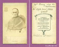 CDV TERUEL à  NEVERS : RELIGION, MONSEIGNEUR DONEY ÉVÊQUE DE MONTAUBAN,1860 -J60
