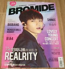 BROMIDE INFINITE BIGBANG B1A4 SHINEE K-POP MAGAZINE 2015 SEP SEPTEMBER SEALED