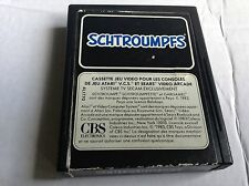 Atari 2600 Vtg Game #retrogaming Smurf Schtroumpfs Label Cart Only uc