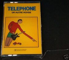 TELEPHONE Un Autre Monde French Rock Music RARE Brand NEW Sealed Cassette Tape