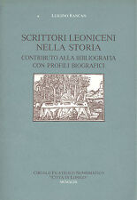 Rancan: Scrittori leoniceni nella storia. Lonigo