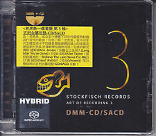 """Stockfisch Records - Art of Recording Vol.3"" Sony DADC DMM-CD/SACD DSD New"