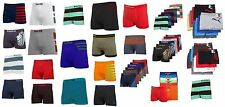 6 Mens  Lot Mens Microfiber Boxer Briefs Seamless Compression Wholesale M#28RD