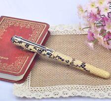 Duke 962 Elegant Snakeskin Fountain Pen