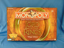 Monopoly Lord of the rings Trilogy board game Parker brothers property trading