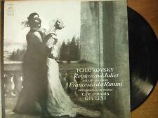 33 RPM Vinyl Tchaikovsky Romeo and Juliet Angel Records 35980 MONO  012615SM