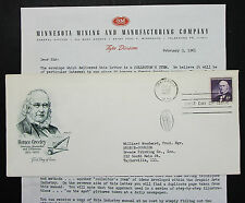 US Artmaster Cachet Cover FDC Chappaqua Greeley Stamp USA Ersttagsbrief (H-7275+