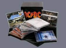 AC/DC 100% Factory Sealed Music Box Set 17 CD Crazy Car Audio CD AC DC CD HOT